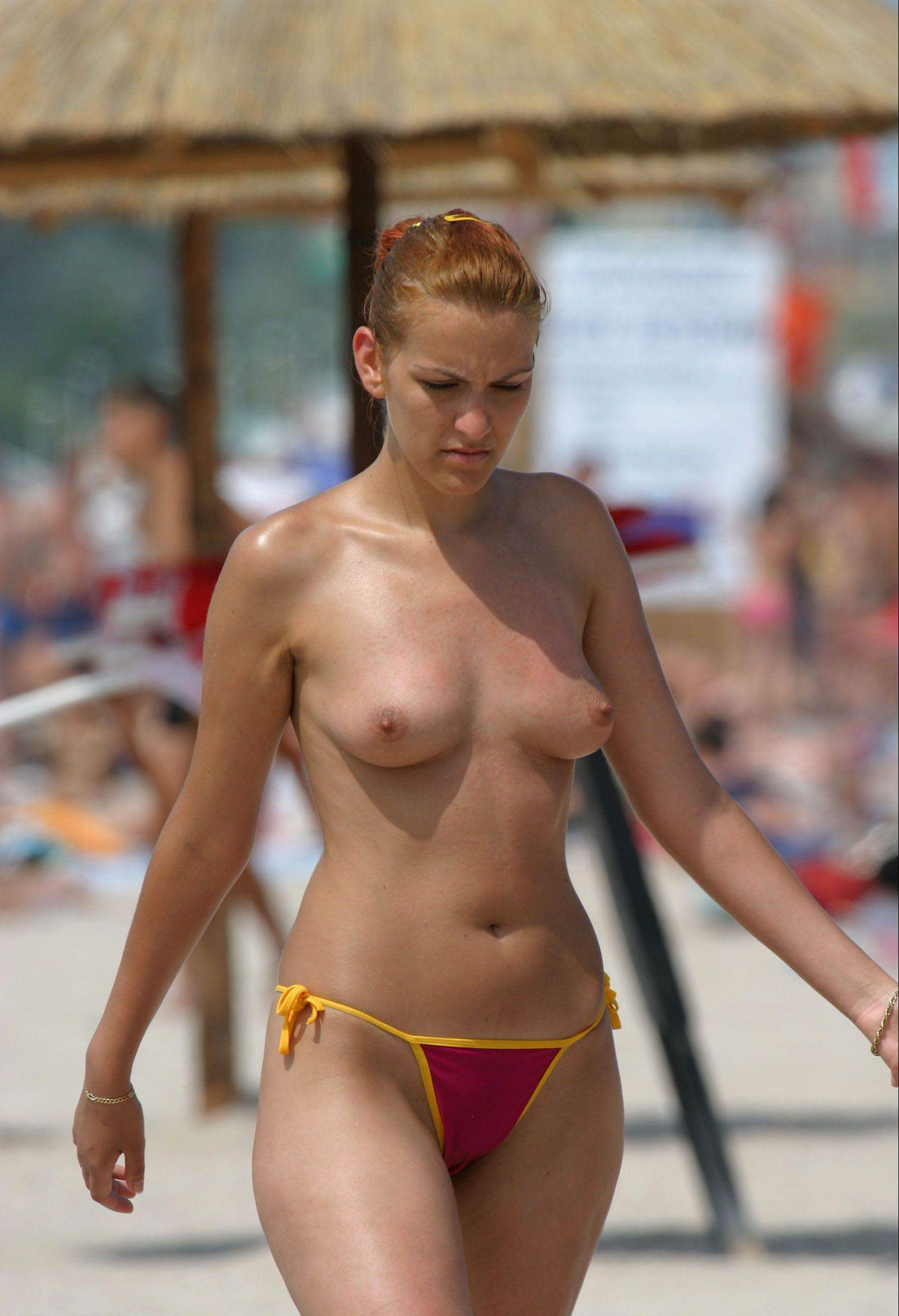Topless Mature Women