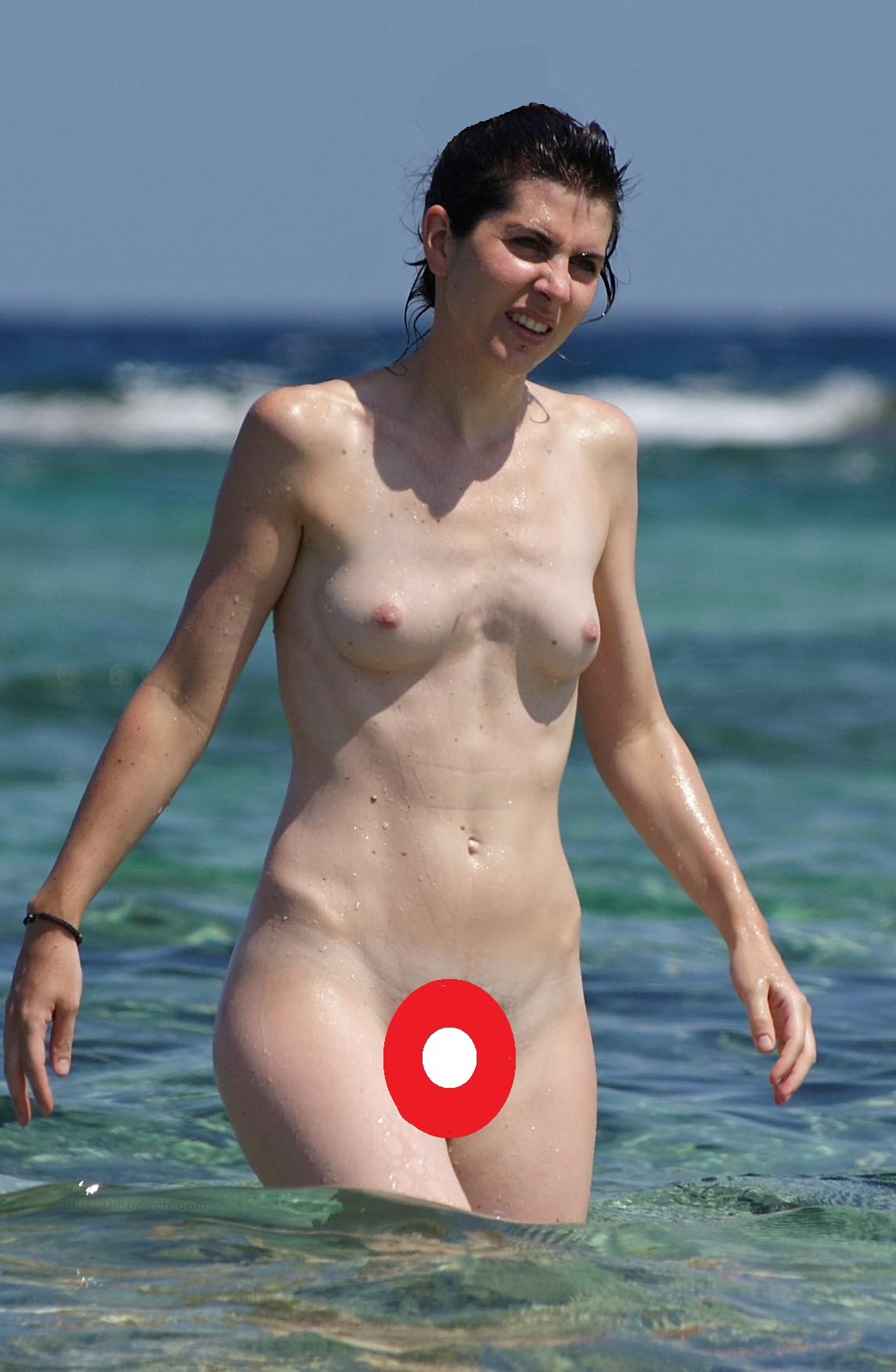 real fat lady naked nipple